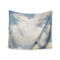 """Susannah Tucker """"Carnival Tent"""" Sky Clouds Wall Tapestry"""