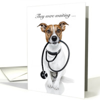 Announcement for Veterinary Graduation card