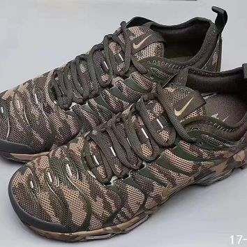 Nike: Air Max Plus Ultra camouflage Fashion Trending Sneakers Running Sports Shoes