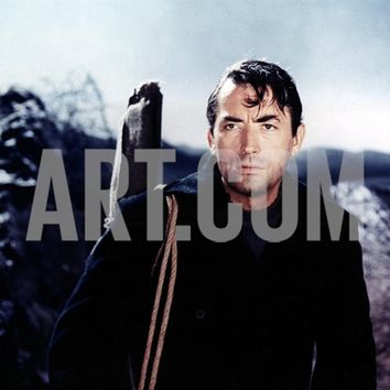 The Guns Of Navarone, Gregory Peck, 1961 Premium Poster at Art.com