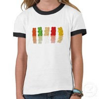 Gummy Bears T Shirts from Zazzle.com