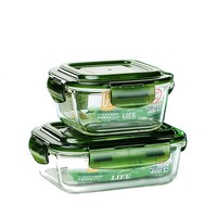 Microwavable Food Container for Work with Lunch Bag