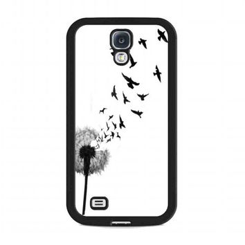 dandelion bird tattoo For samsung galaxy s4 case
