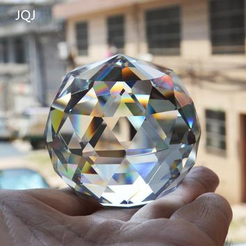 Crystal Glass Faceted Ball Natural Feng Shui Ball