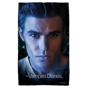 VAMPIRE DIARIES/STEFAN EYES-BEACH TOWEL-WHITE-36x58