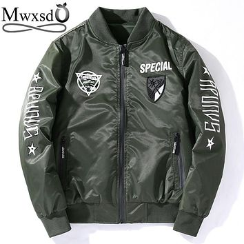 Men's Army Bomber Pilot Jacket/Coat