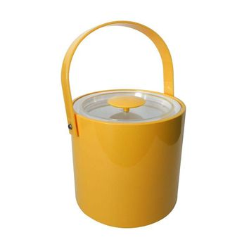 Pre-owned Vintage 1960's Yellow George Briard Ice Bucket