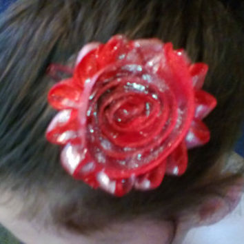 All Sizes Flower Hair Clip 004