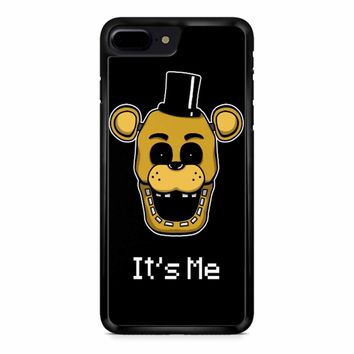 Five Nights At Freddy Fnaf Golden Freddy It S Me iPhone 8 Plus Case
