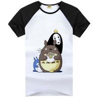 Totoro Cute Kawaii Short Sleeve T-Shirt V6