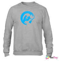 Eddie the surfing rocker_ Crewneck sweatshirtt