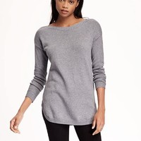 Relaxed Boat-Neck Sweater for Women | Old Navy