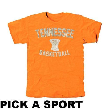 Tennessee Volunteers Legacy Tri-Blend T-Shirt - Tennessee Orange