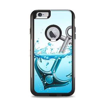 The Anchor Splashing Apple iPhone 6 Plus Otterbox Commuter Case Skin Set