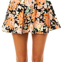 *MKL Collective Skirt Flower in Black