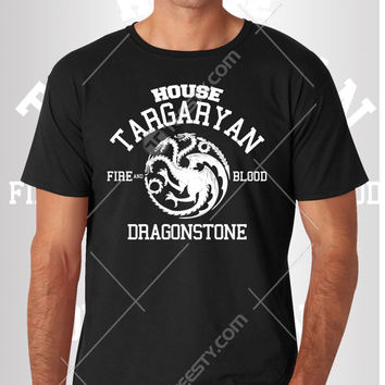 House Targaryan T-shirt T-shirts Hoodie Hoodies Sweatshirt Sweatshirts American Apparel Tv Show Game Of Thrones Mug Phone Cases Targaryan