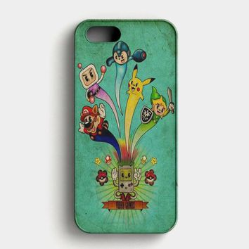Nintendo Video Game Art iPhone SE Case