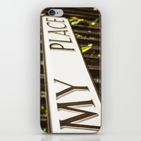 My Place iPhone & iPod Skin by Errne