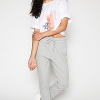 Kendall and Kylie Solid Fleece Jogger Pants at PacSun.com