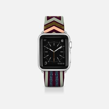 Rustic Aztec Apple Watch Band (38mm) by Webgrrl | Casetify