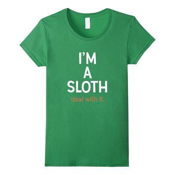 I'm A Sloth Deal With It Funny Sloth Stuffed Animal Costume
