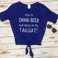 Time to Drink & Dance on the Tailgate: Royal