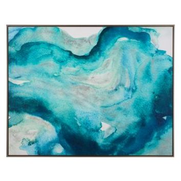 Deep Water Current | Canvas Artwork | Art by Type | Art | Z Gallerie