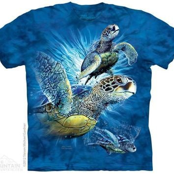 New FIND 9 SEA TURTLES  T SHIRT