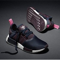 Women Adidas Nmd Boost Casual Sports Shoes-1