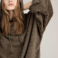 Fuzzy Oversized Pullover