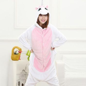 PEAPIX3 Cartoons Unicorn Animal Couple Home Sleepwear Halloween Costume [9220981700]