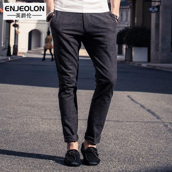 brand long trousers Casual pants men's clothing