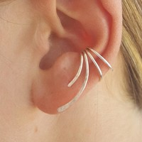 Ladies Ear Climber Cuff Earrings