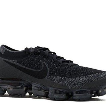 Nike Men's Air VaporMax Flyknit Running Shoe (Black)