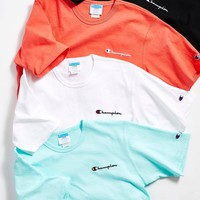 Champion Left Chest Embroidery Champion Short Sleeve T-shirt