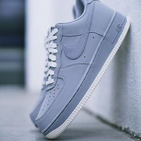"""DCCKIG3 Nike Air Force 1 Low""""Wolf Grey�820266-016"""