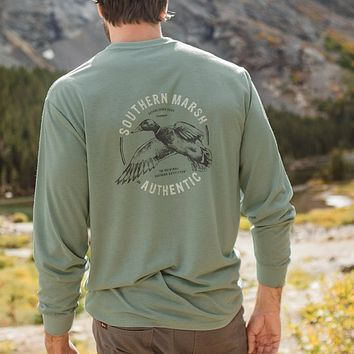 Long Sleeve FieldTec™ Inflight Comfort Tee by Southern Marsh