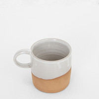 Totokaelo - Helen Levi Brown / White Camp Mug - $48.00