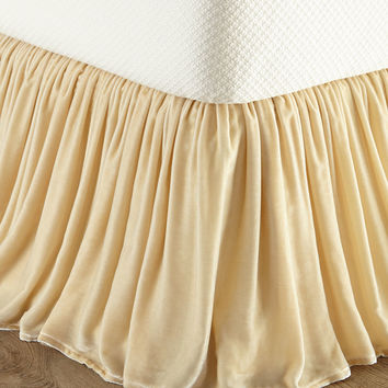 King Velvet Dust Skirt - Isabella Collection by Kathy Fielder