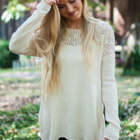 Perfect Morning Sweater, Natural