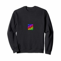 V for VEGAN Rainbow Sweatshirt