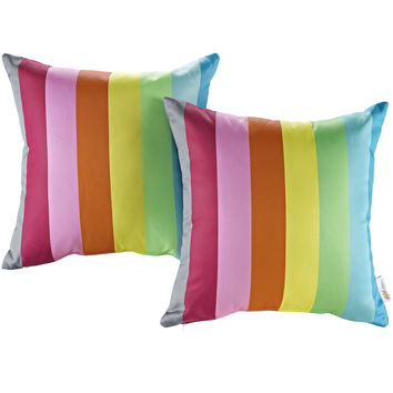Modway Outdoor Patio Throw Pillow Set of 2