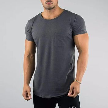 2019 New ALPHALETE Men Running T-shirts