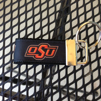 OSU Keychain Fob by SweetKeeps on Etsy