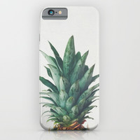 Pineapple Top iPhone & iPod Case by Cassia Beck