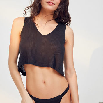 Out From Under Cropped Muscle Tank Top | Urban Outfitters