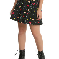 Harry Potter Icons Circle Skirt