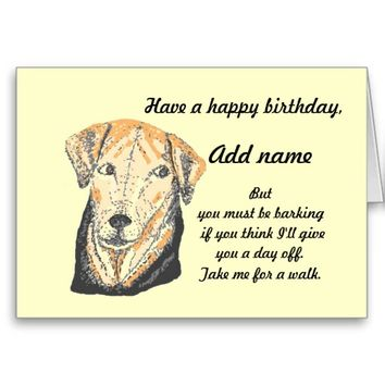 best funny dog birthday cards products on wanelo, Birthday card