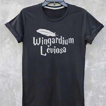 Harry Potter shirt Wingardium Leviosa shirt Hermione t shirts with sayings women Harry Potter shirt girls Harry Potter quote Vintage Style