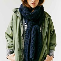 Downy Open-Knit Scarf-